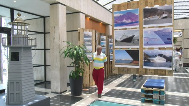"""2017-07-14 Inauguración de la Exposición """"Memorias del muelle - Aires de Sal"""" - Resumen"""
