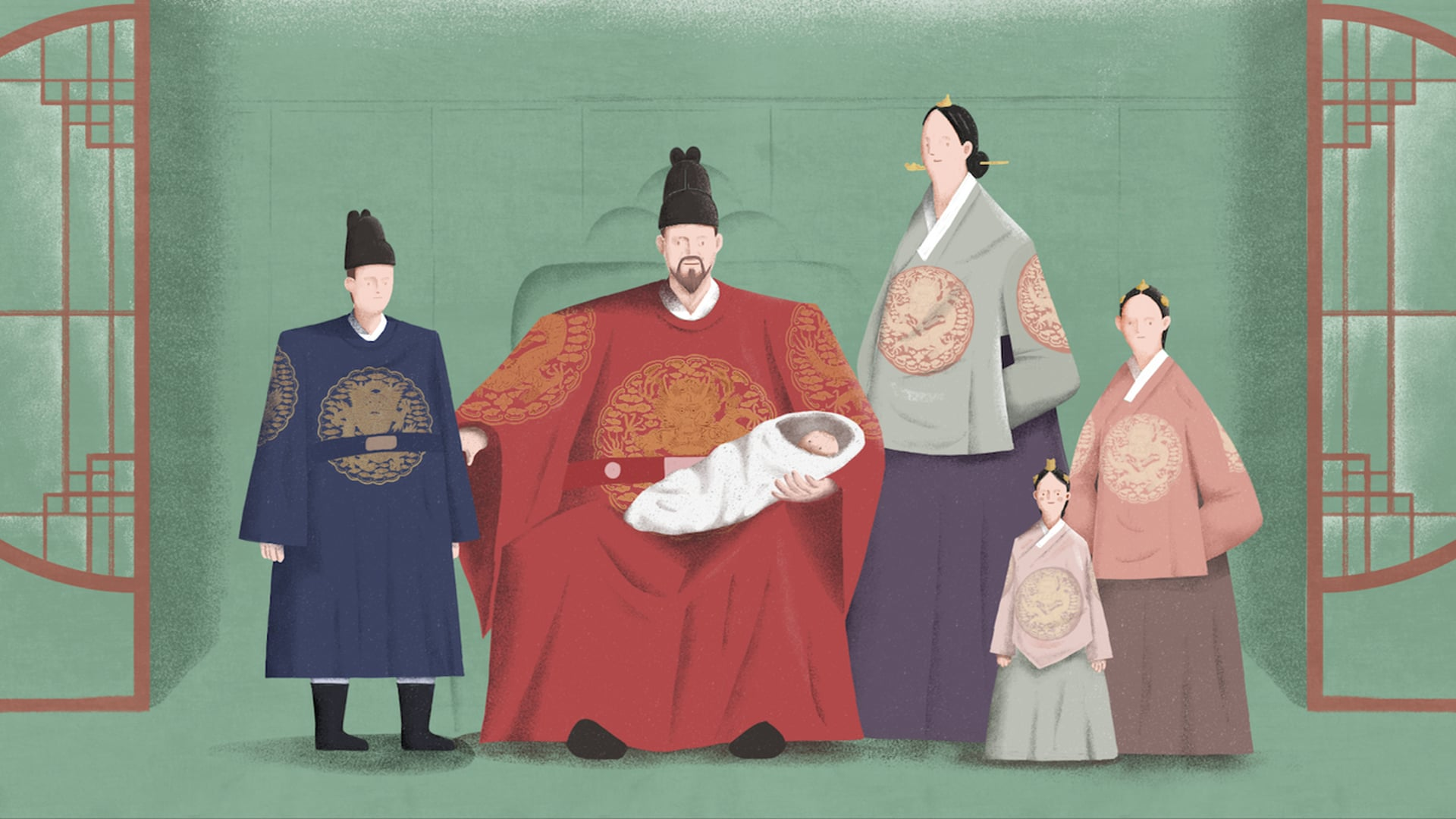 'A Wedding Day in Autumn,1837' Hangeul Materials related to Princess Deogon