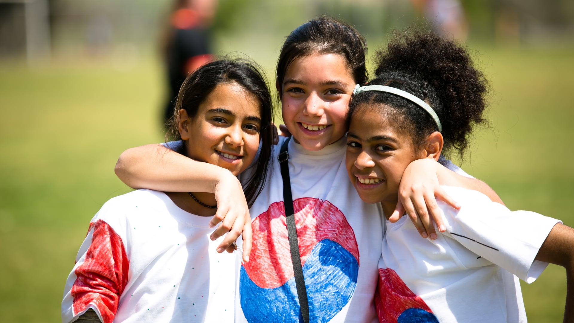 USAID Girls Soccer - Camp of Hope 2017