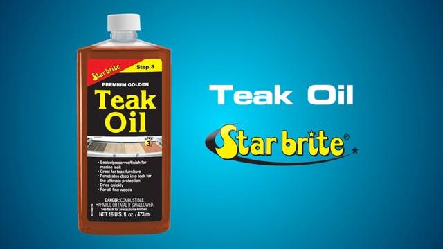 Teak Oil Short