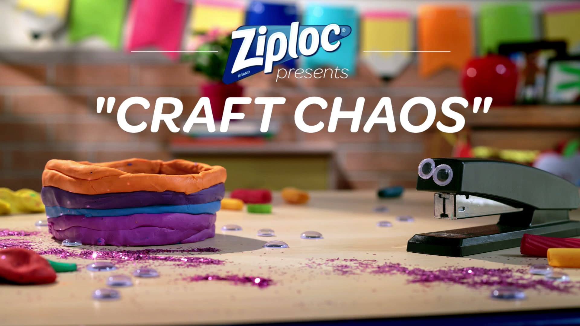 Ziploc Presents: 'Craft Chaos'
