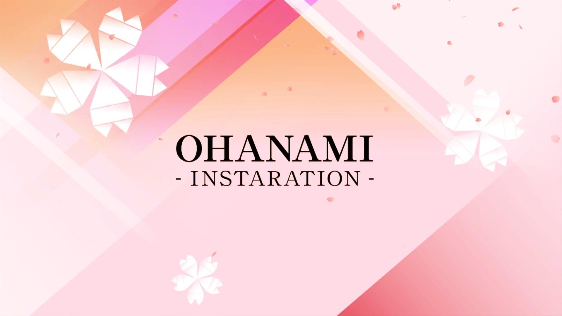 OHANAMI Inataration - RETHINK TOKYO vol.8