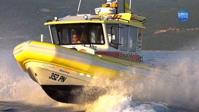 FERNSEHBEITRAG: SeaHelp - die gelben Engel auf dem Wasser