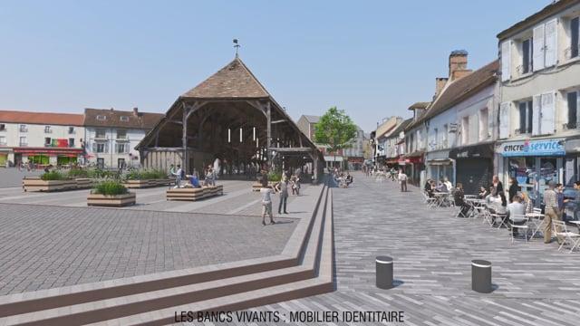 Vimeo Video : Coeur de ville d'Arpajon