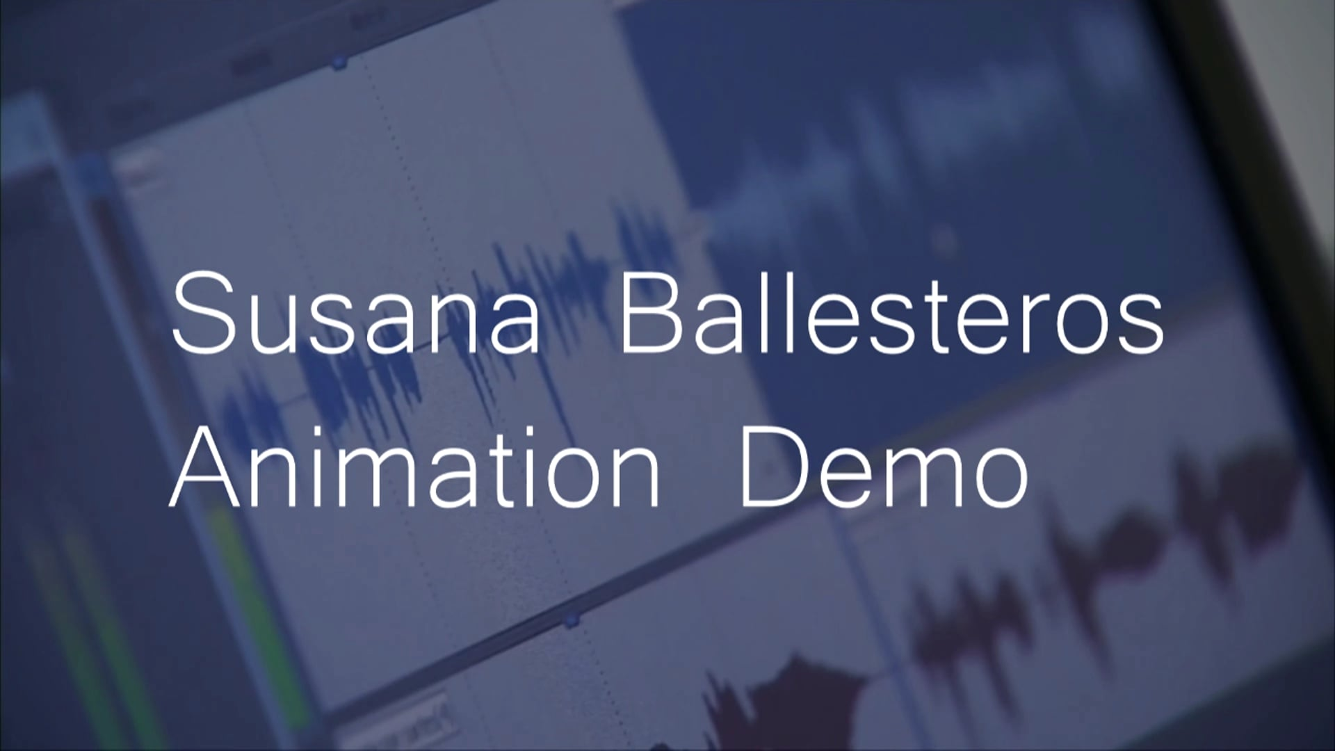 Susana Ballesteros Animation Demo. Voice Talent Represented by AVO Talent Agency