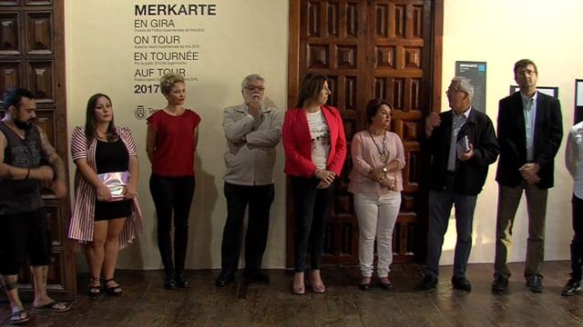 """2017-07-21 Inauguración """"Merkarte en gira"""" - VIDEONOTA"""