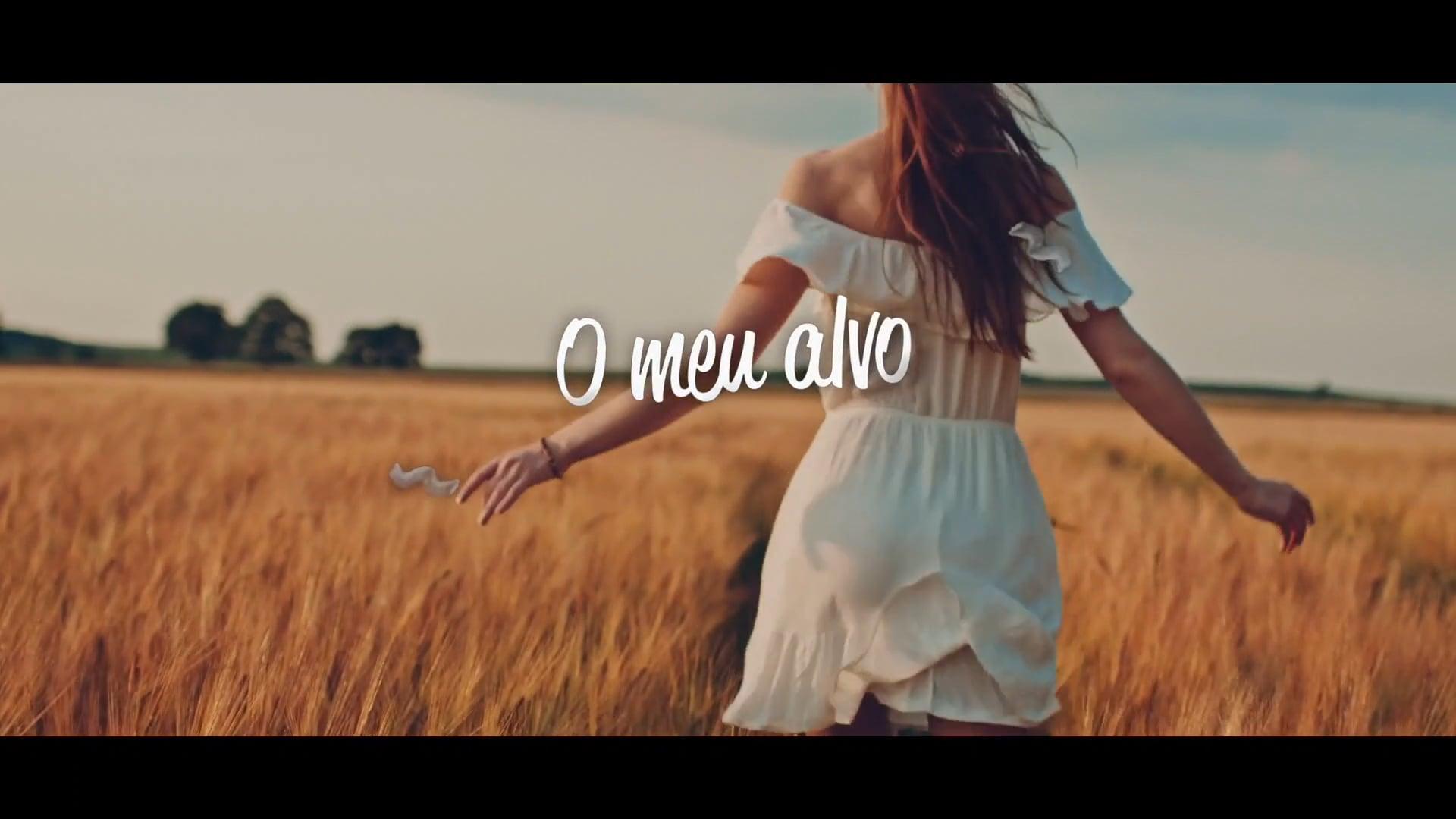 LYRIC VIDEO - O MEU ALVO - MINISTÉRIO JC3 - HD