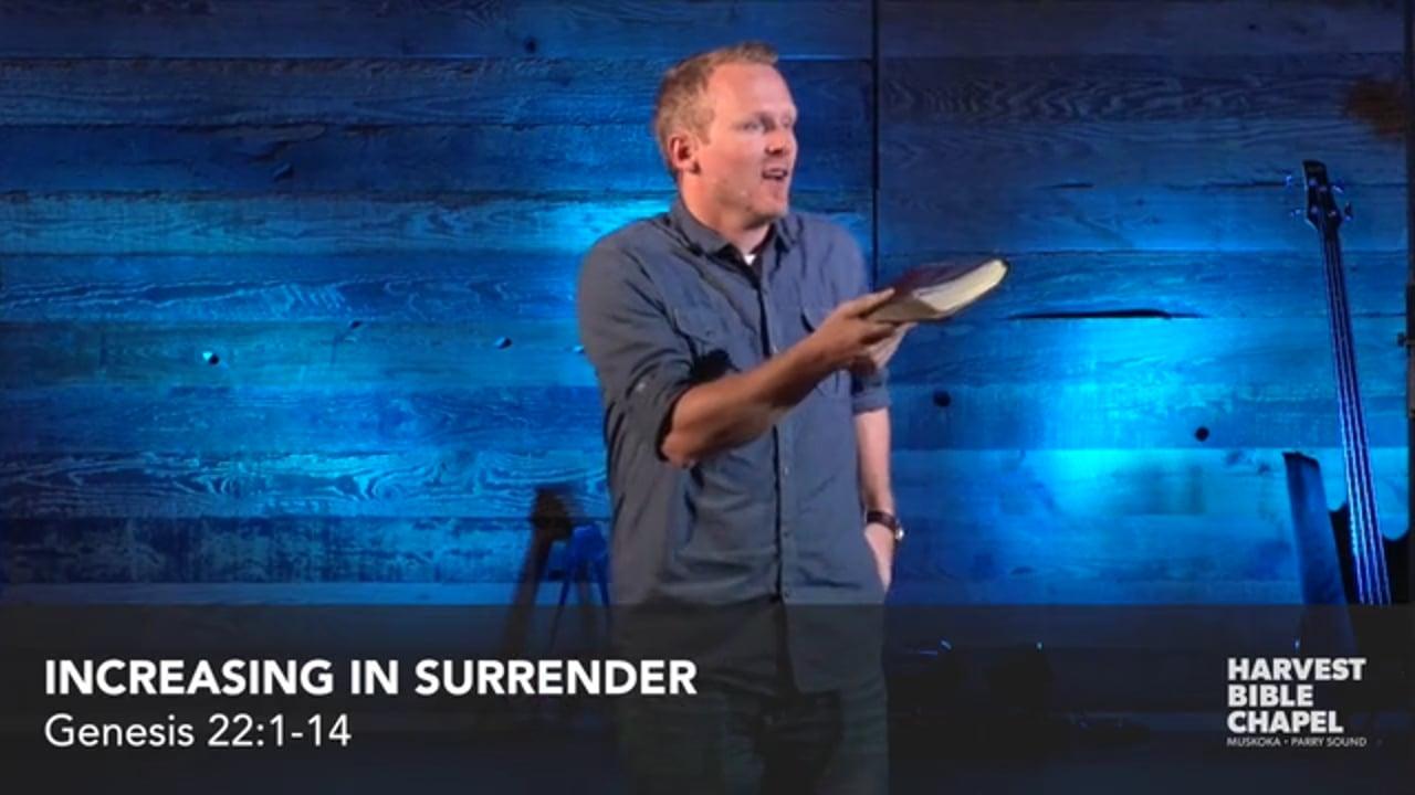 Increasing In Surrender