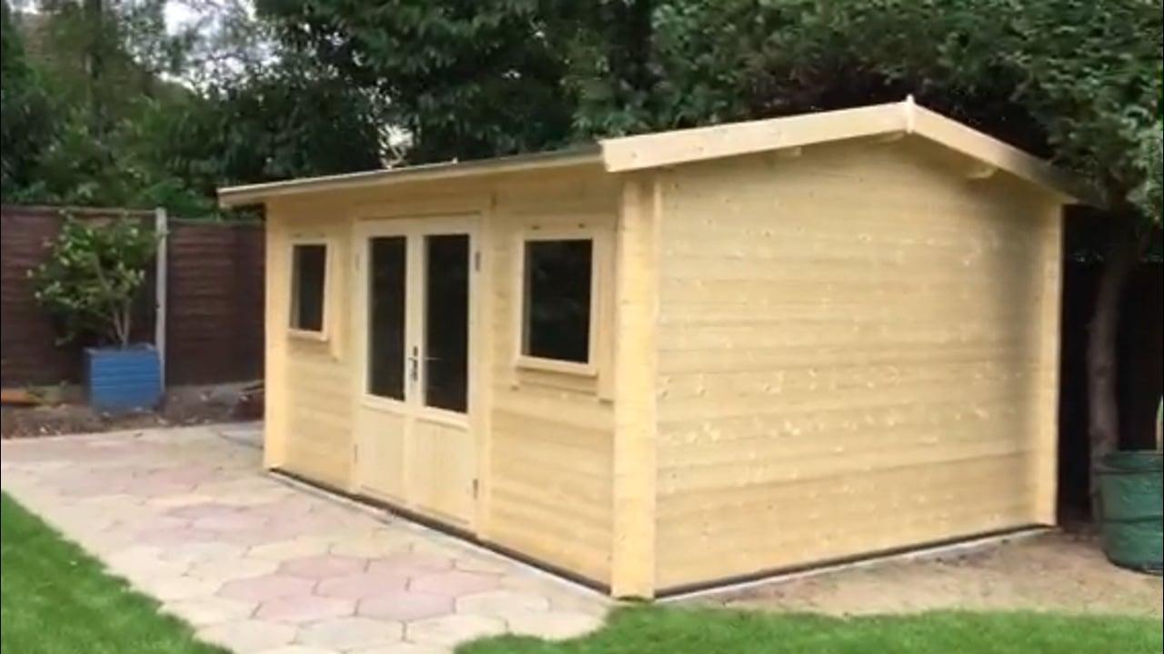 jenny 40mm log cabin