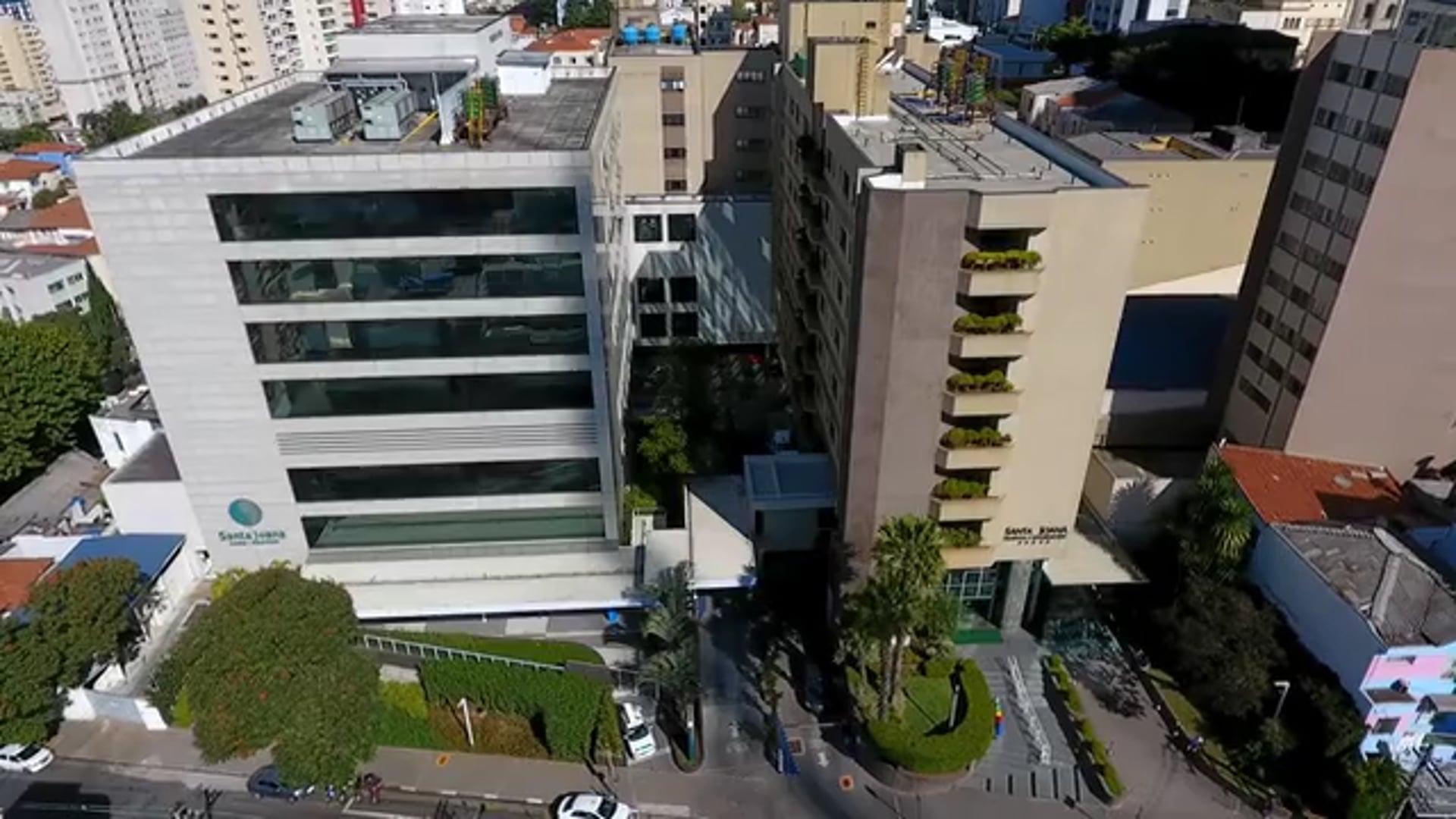 Vista Aérea Hospital Santa Joana