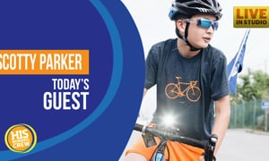 Local 13 Year Old Riding Bike Cross-Country for Clean Water