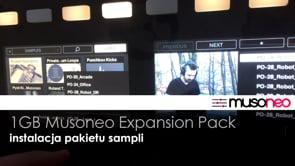 Musoneo EXPANSION PACK - Instalacja