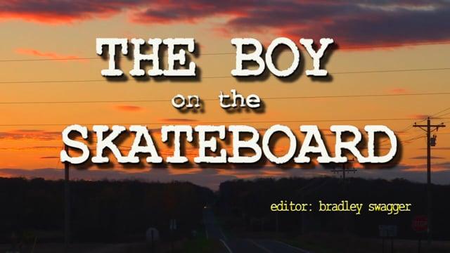 The Boy On The Skateboard