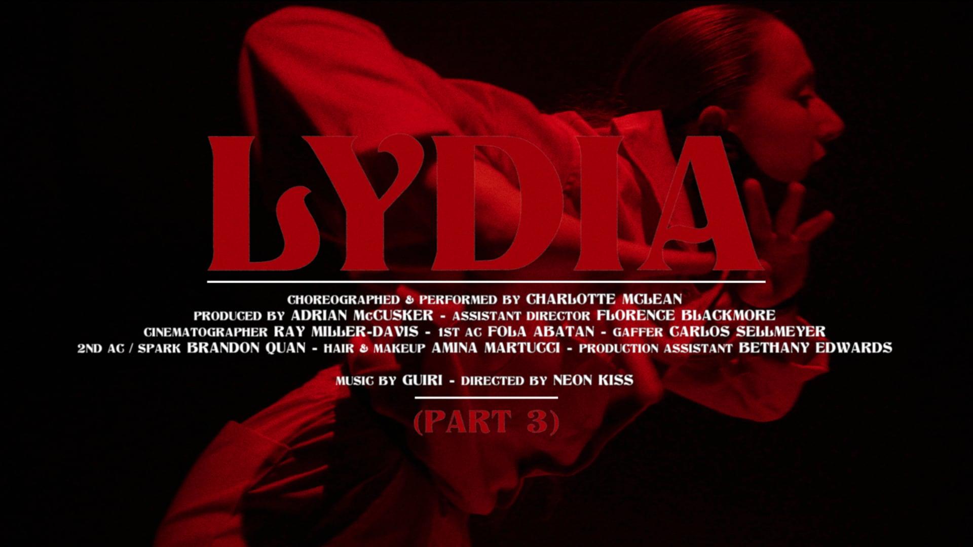 Part 3: Lydia by Guiri