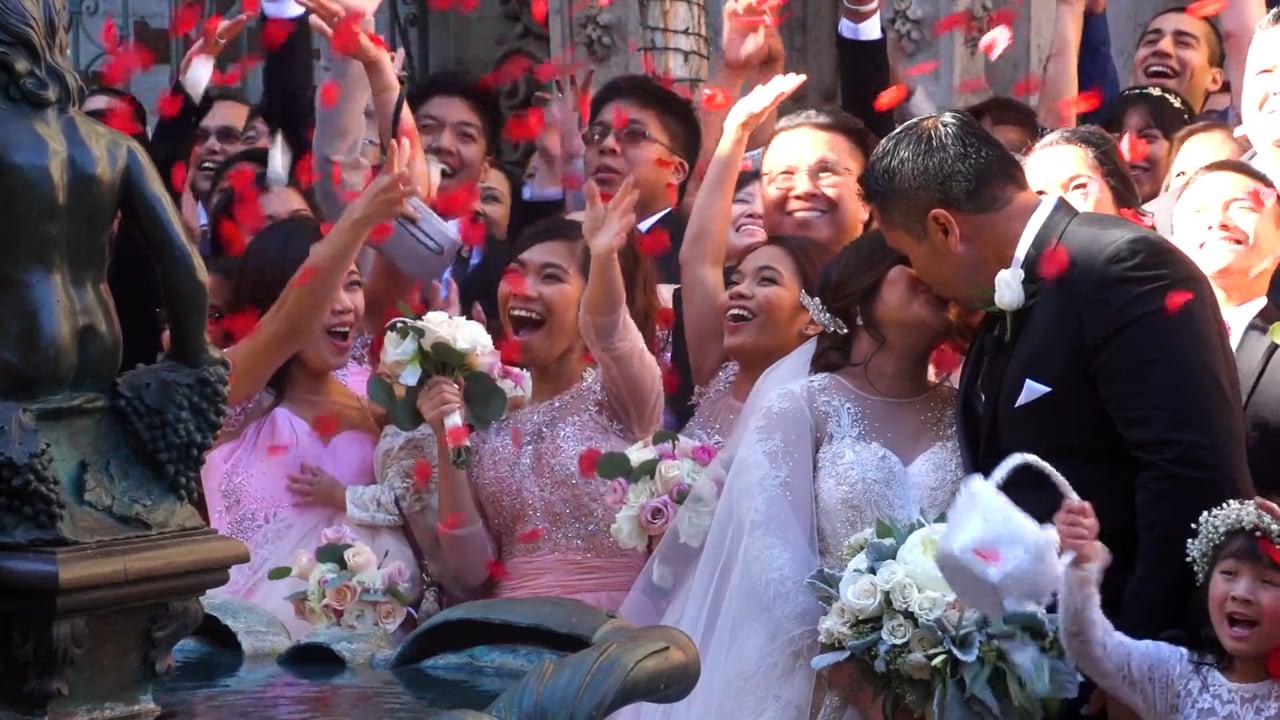 Amabelle + Vicmar & their Mission Inn Wedding Video