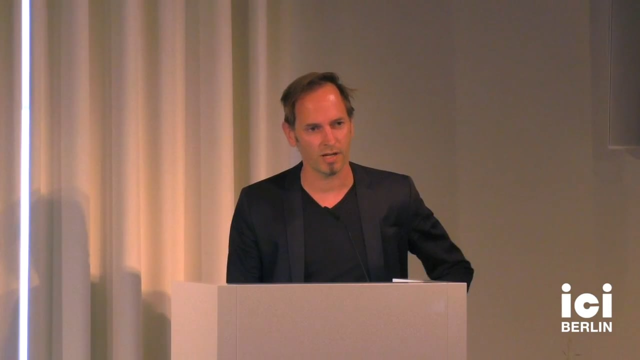 Introduction by Marian Burchardt for Boris Vormann
