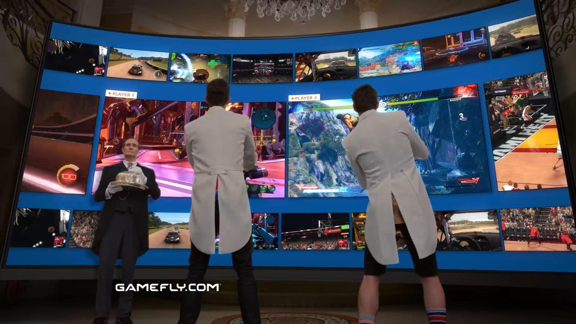 GameFly Gamers :60 E-M