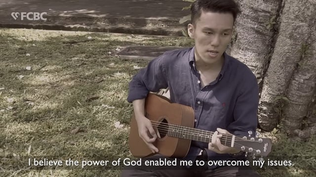Baptism Testimony of David Lim Yu Hui