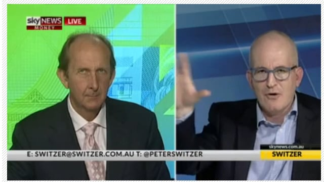 Andrew Klein on Sky Business with Peter Switzer, 2017