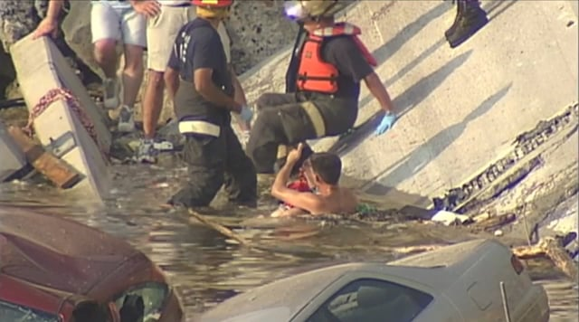35W First Responders:  The Aftermath