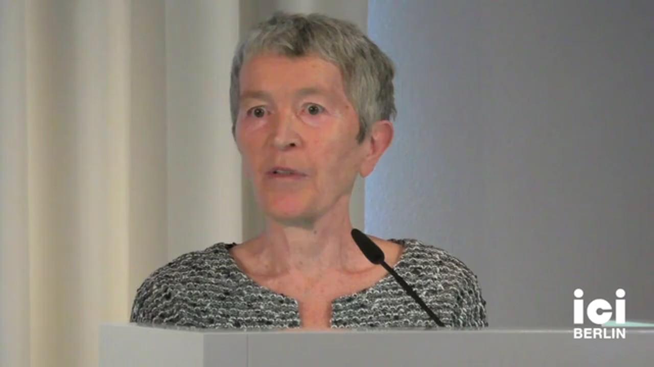 Talk by Margit Mayer