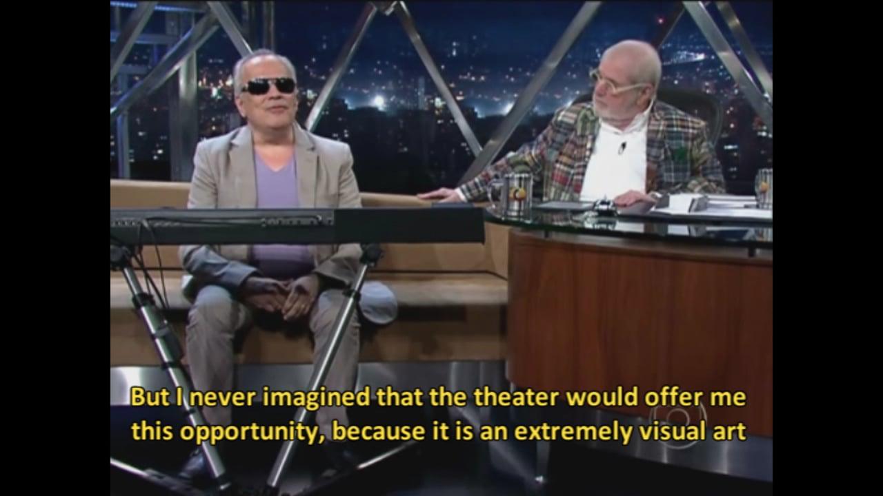 Teatro Cego no Programa do Jô