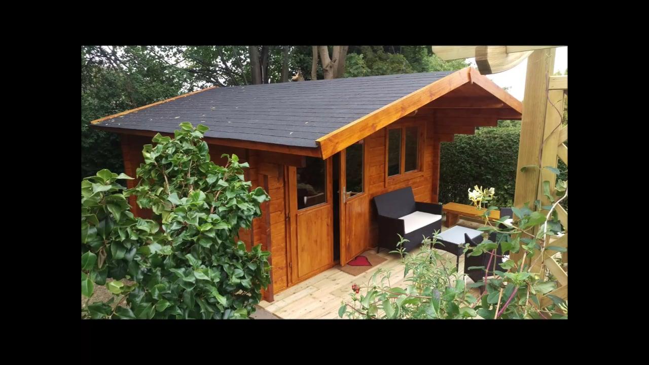 Stian Log Cabin 58mm