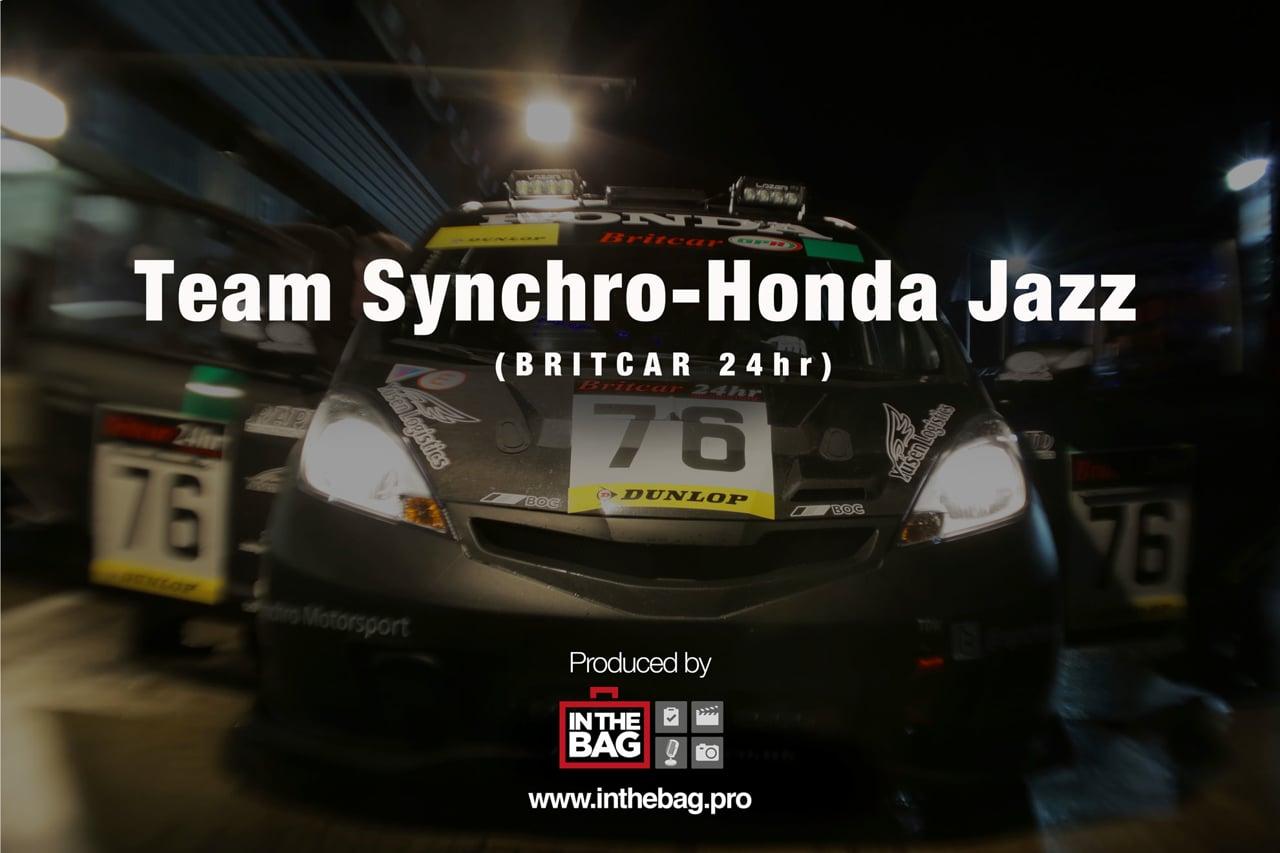Team Synchro - Honda Jazz - Britcar 24