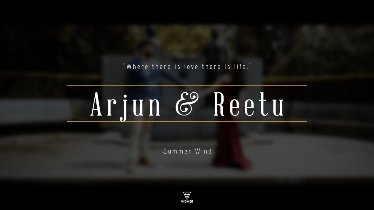 | Arjun & Reetu | Summer Wind | Pre-shoot Music Video | Shot & Edited by: Vidaer Studios |