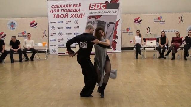 SDC 2017, J&J Star Slow, 1 место, Иван Волконский - Татьяна Дутчак