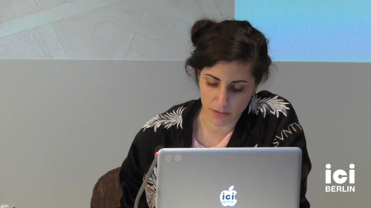 Talk by Nadine Hattom (Panel II)