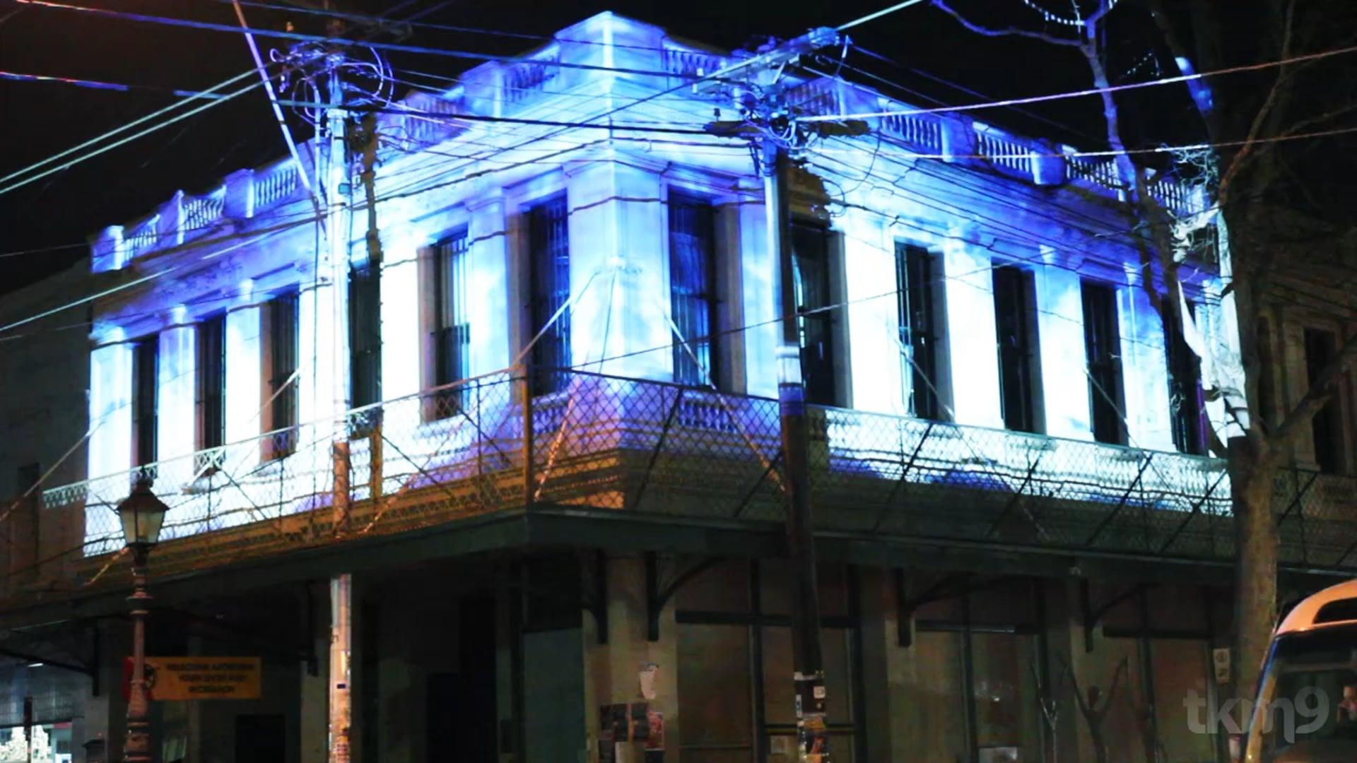TKM9 | The Gertrude St Light Festival.