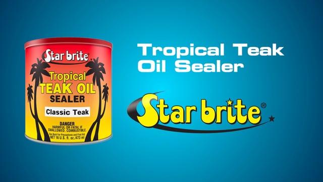 Tropical Teak Sealer Short