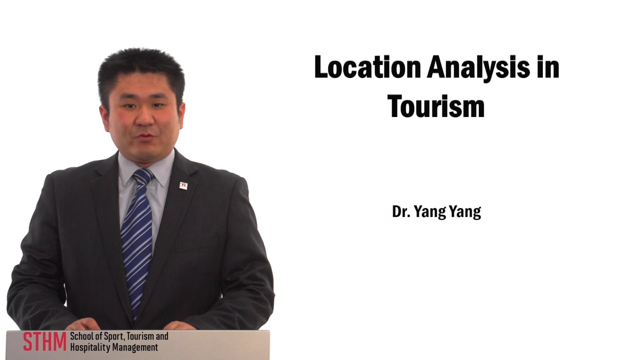59733Location Analysis in Tourism
