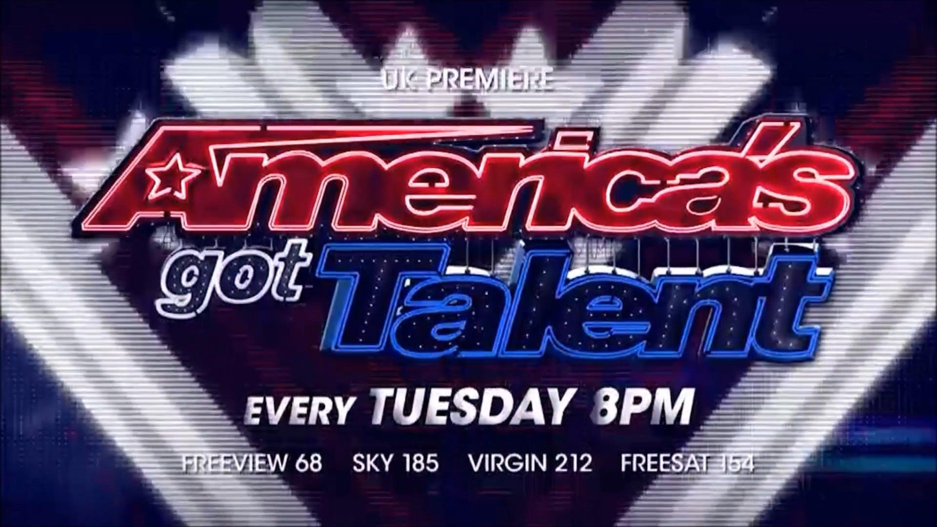 AGT Americas Got Talent Ident 60 sec