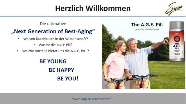 The A.G.E Pill - Sisel International Deutsch