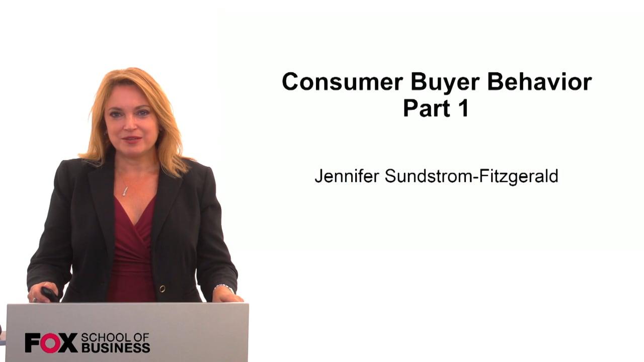 59845Consumer Buyer Behavior Part 1