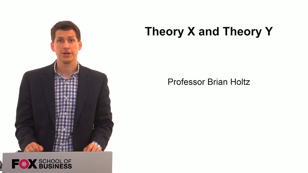 59813Theory X and Theory Y