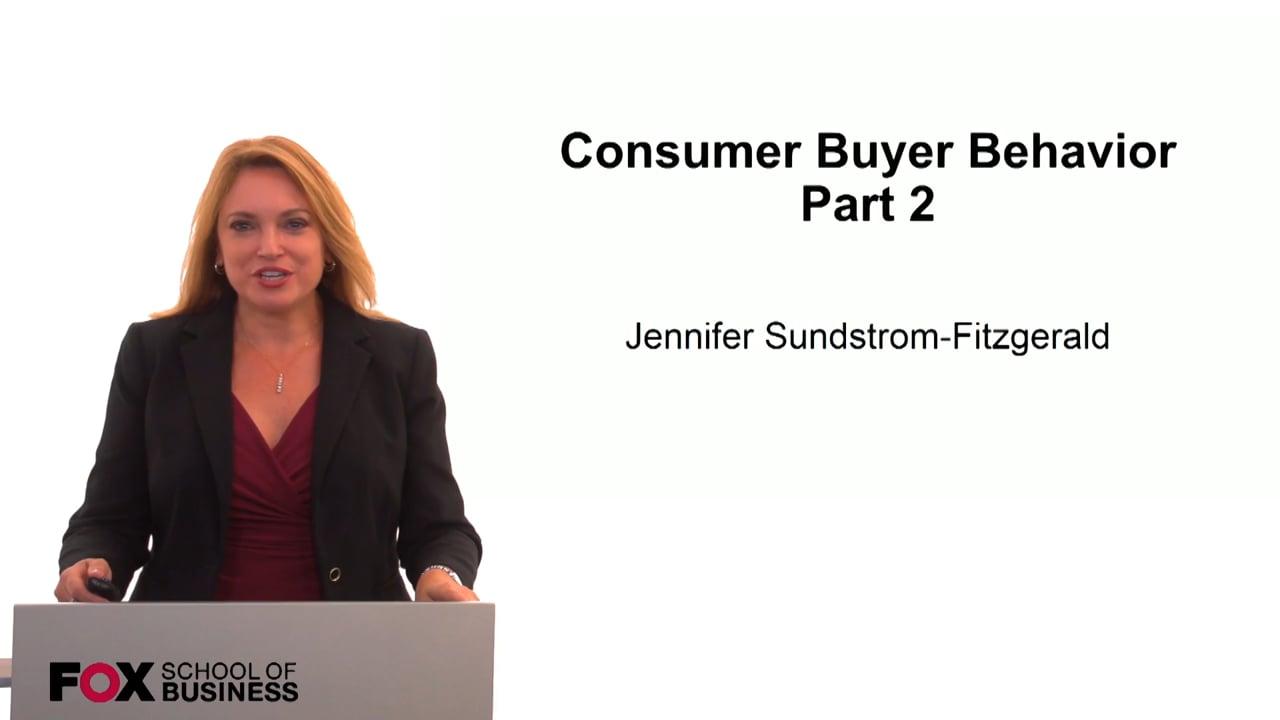59846Consumer Buyer Behavior Part 2