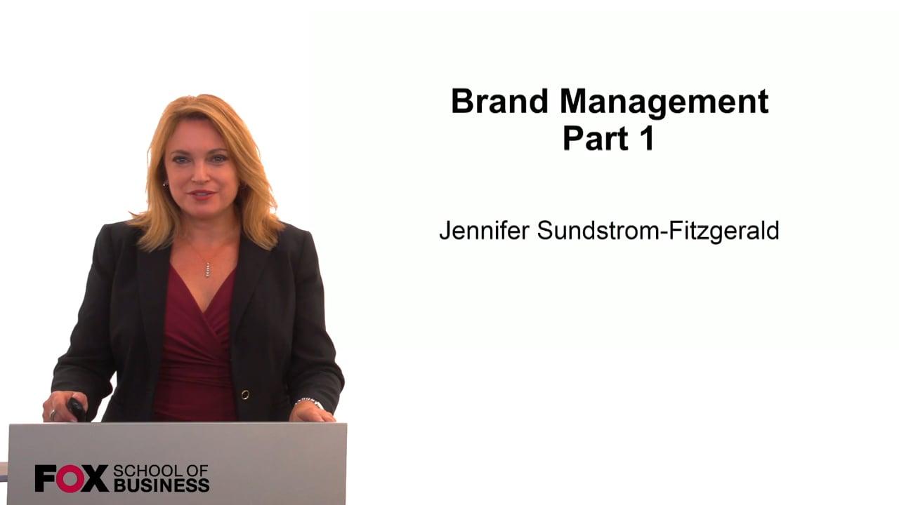 59843Brand Management Part 1