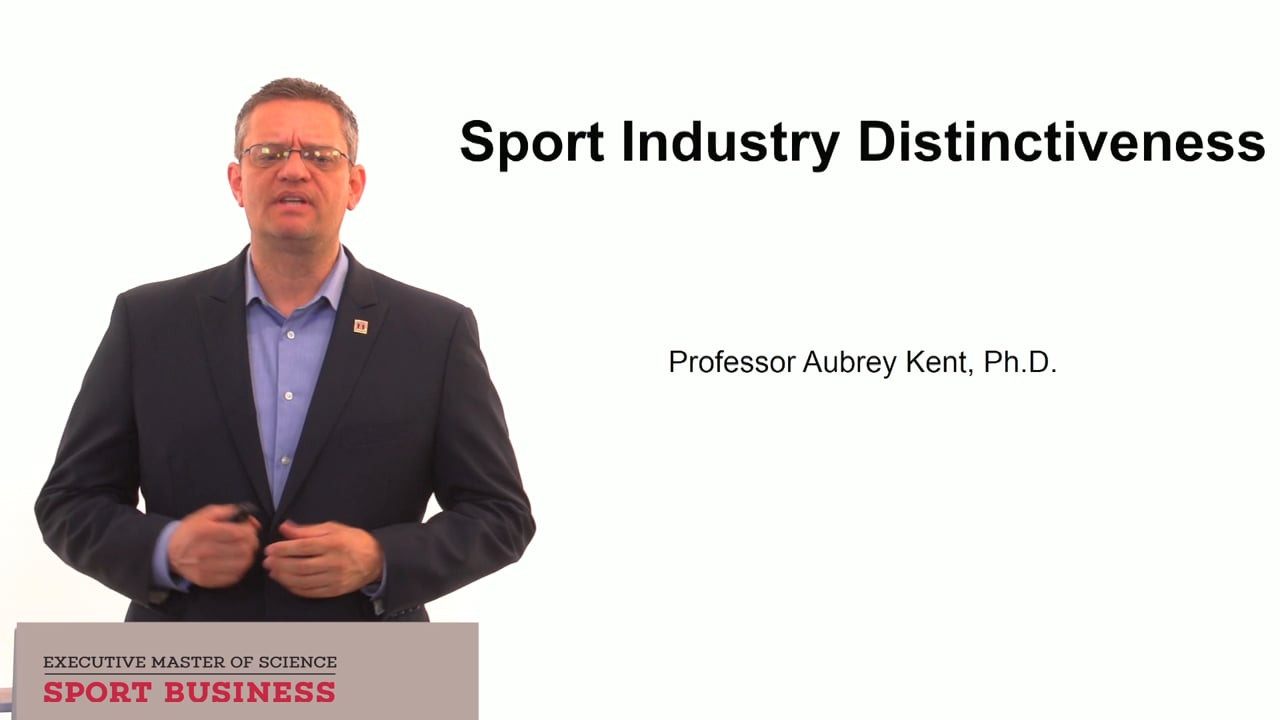 59787Sport Industry Distinctiveness