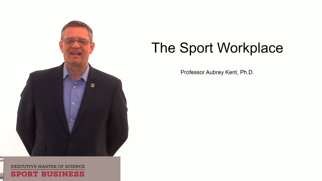 60046The Sport Workplace