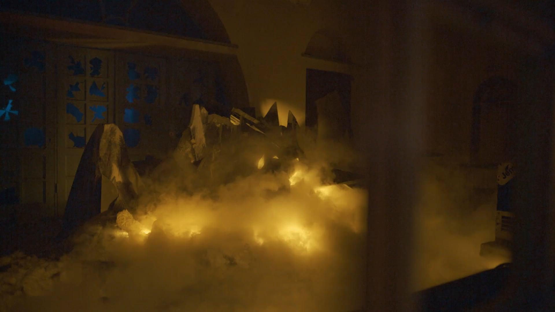 Deus Ex Machina by Elinor Sahm and 18 Degrees