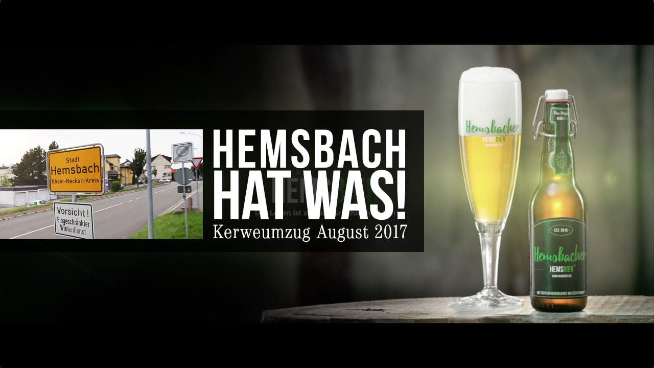 Hemsbach hat was!