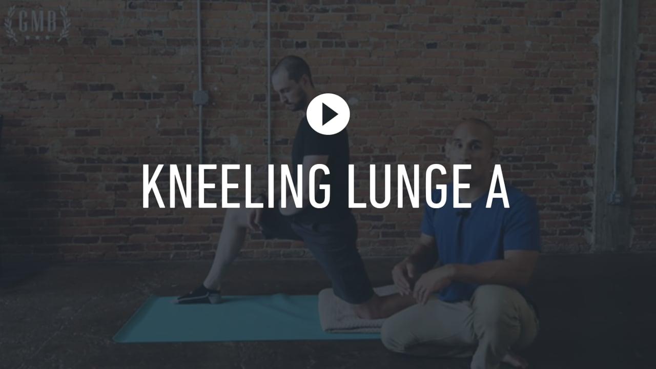FF Kneeling Lunge  A