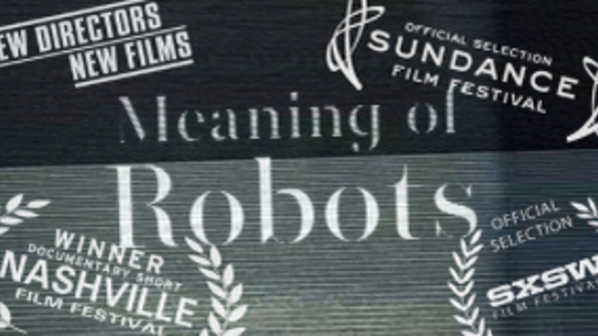 """""""Meaning of Robots"""" documentary short"""