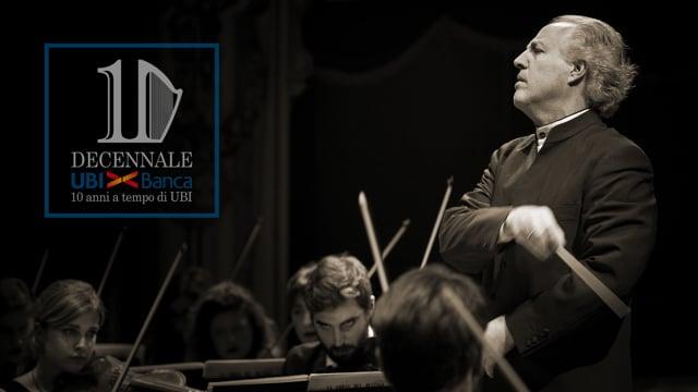 Orchestra Accademia Teatro alla Scala - Tournée Ubi Banca (speach tutti insieme inizio)
