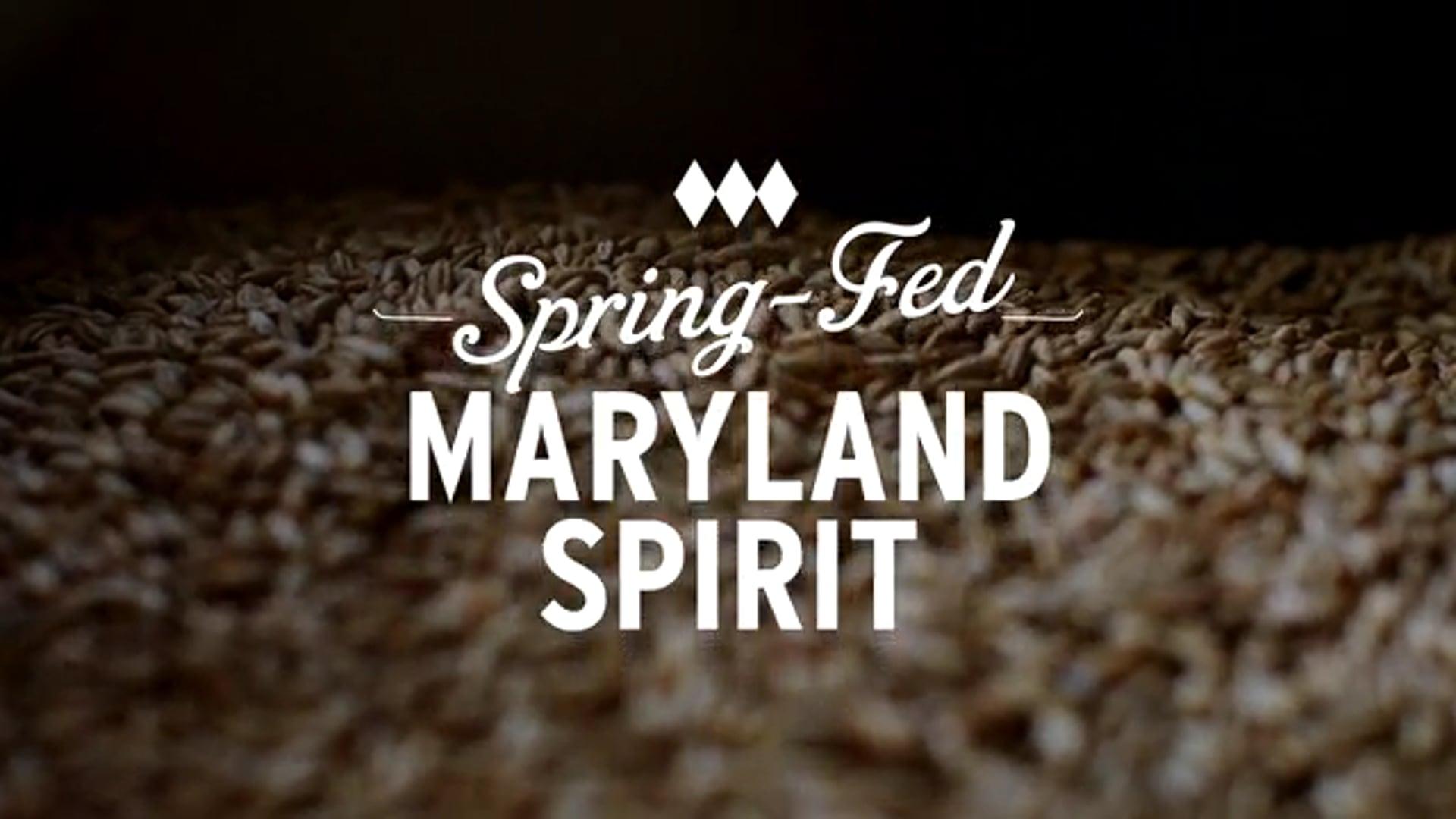 Sagamore Distillery - Spring Fed Maryland Spirit