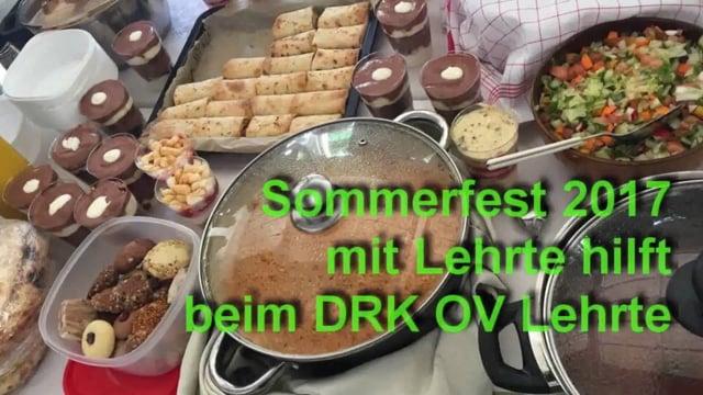 Sommerfest 2017 mit Lehrte hilft - feiern
