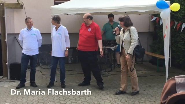 Sommerfest 2017 mit Lehrte hilft - Frau Dr. Flachsbarth